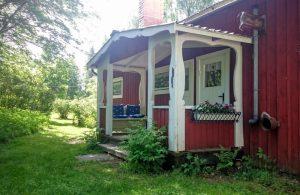 Ferienhaus Lillstugan- veranda