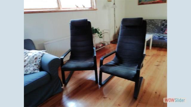 Twee heerlijke stoelen